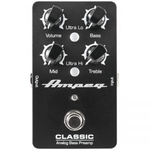Ampeg Classic Analog Bass Preamp pedaal