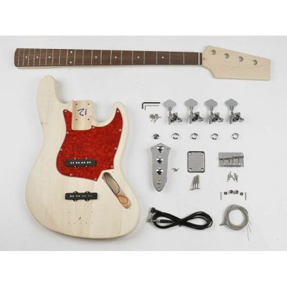 Boston KIT-JB-10 gitaarbouwpakket jazz-stijl basgitaar