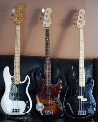 Precision Bass en Jazz Bass