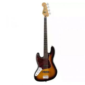 Squier Vintage Modified Jazz Bass 3-Color Sunburst linkshandig