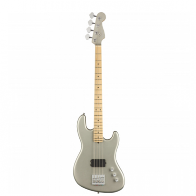 Fender USA Flea Jazz Bass Active Satin Inca Silver MN