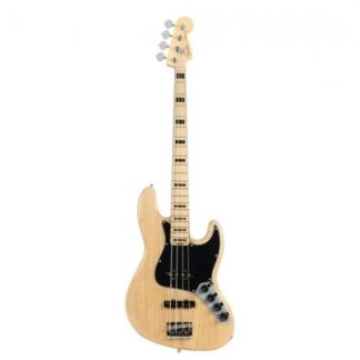 Fender American Elite Jazz Bass Natural MN