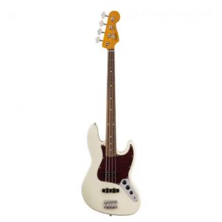 Fender Classic Series '60s Jazz Bass Lacquer Olympic White PF
