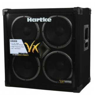Hartke VX410 4x10 400 Watt basgitaar speakerkast