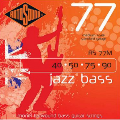 Rotosound 77M Jazz Bass 77 set basgitaarsnaren 40 - 90 medium