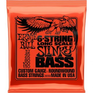 Ernie Ball 2838 6-String Long Scale Slinky Bass snarenset