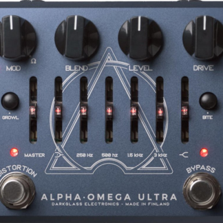 Darkglass Alpha Omega Ultra bas distortion & voorversterker