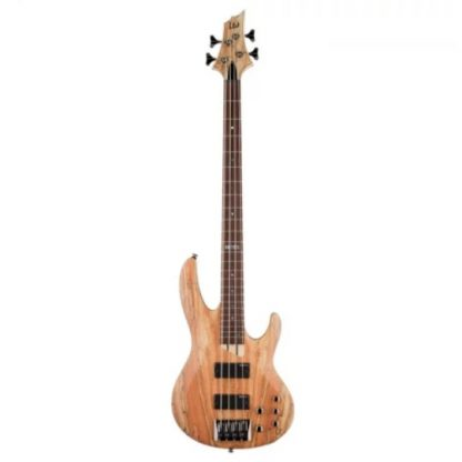ESP LTD B-204SM Natural Satin elektrische basgitaar