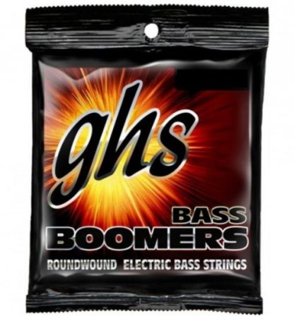 GHS P3045 Bass Boomers Extra Long Scale Piccolo snarenset bas