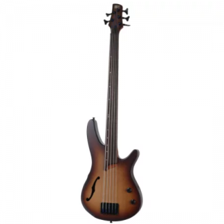 Ibanez Soundgear SRH505F Natural Browned Burst Flat
