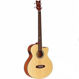 Ortega Deep Series 5 D538-4 Open Pore Natural E/A basgitaar