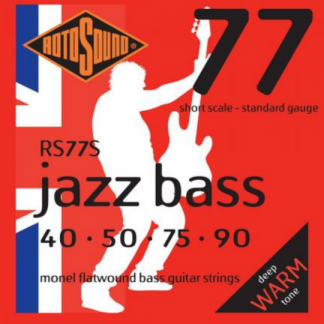 Rotosound 77S Jazz Bass 77 set basgitaarsnaren 40 - 90 short