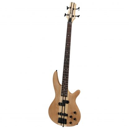 Fazley FNB218NT elektrische neck-through basgitaar naturel