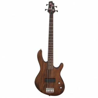 Cort Action Junior Open Pore Walnut elektrische basgitaar