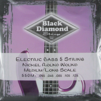Black Diamond Strings N550M Nickel snarenset basgitaar