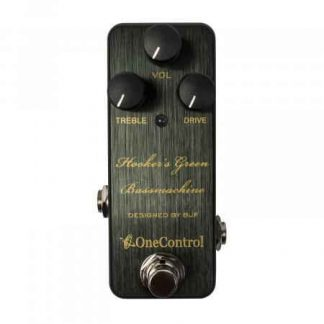 One Control Hooker's Green Bassmachine overdrive pedaal